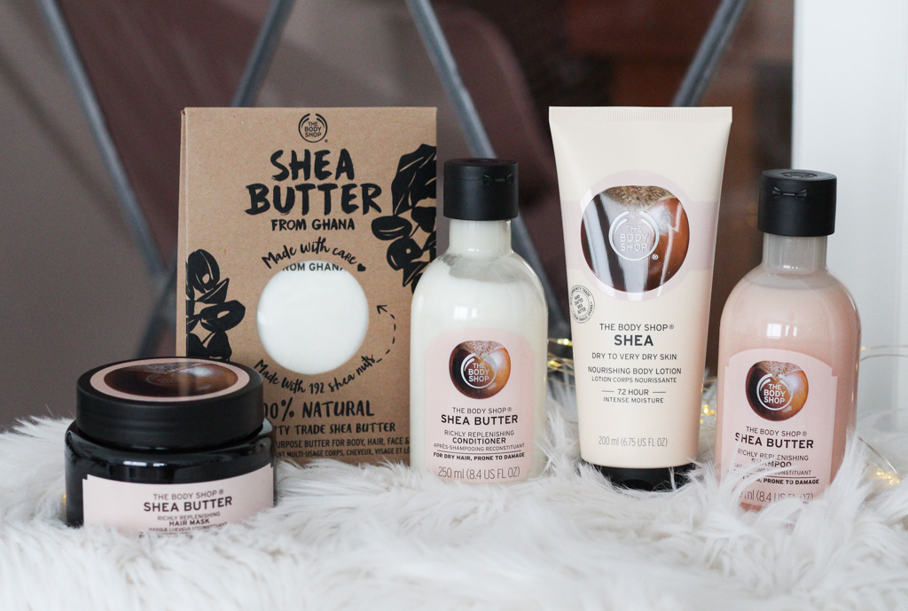 The Body Shop Shea Butter lijn