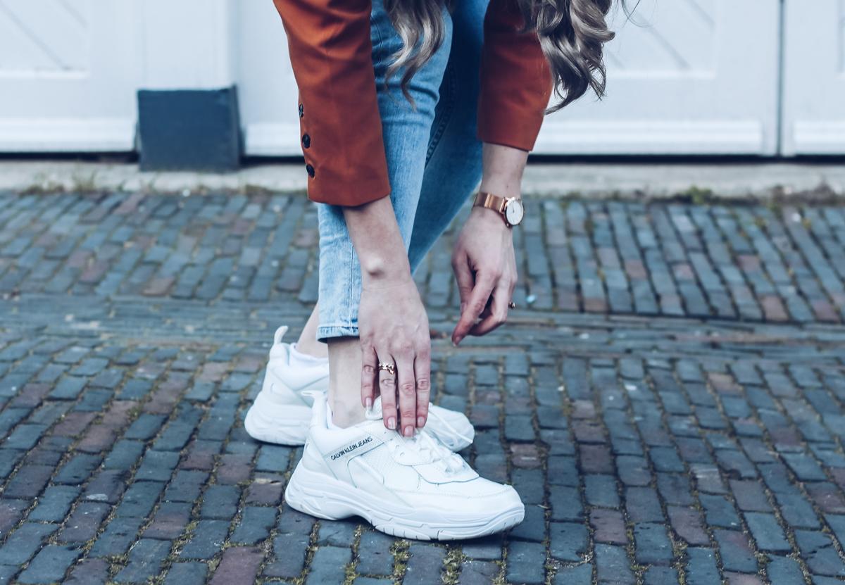 Nieuwe sneakers van Calvin Klein