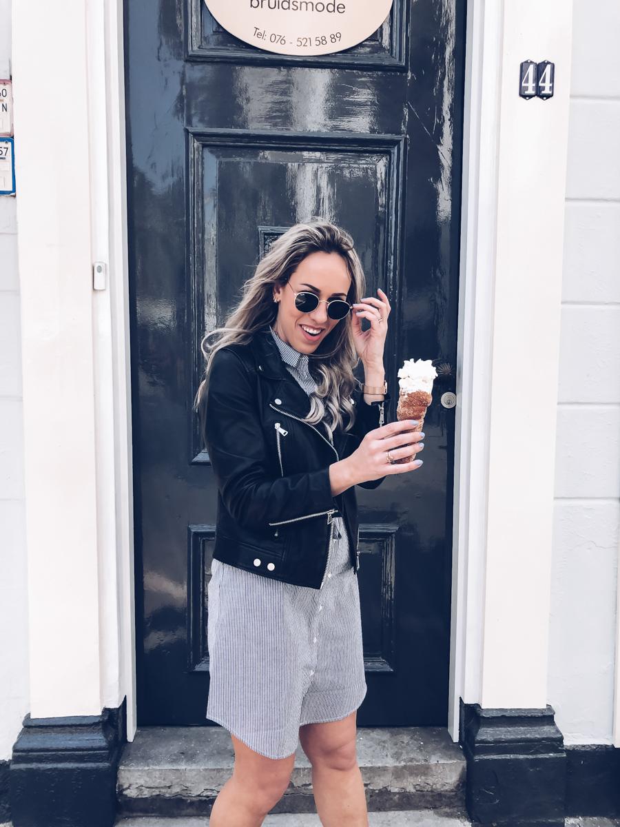 Outfit: een zonnige dag in de stad